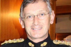 Col CS Calder OBE uniform