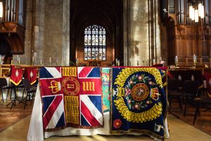 ENGLAND'S REGIMENT BIDS A FOND FAREWELLTO A COLOURFUL PAST