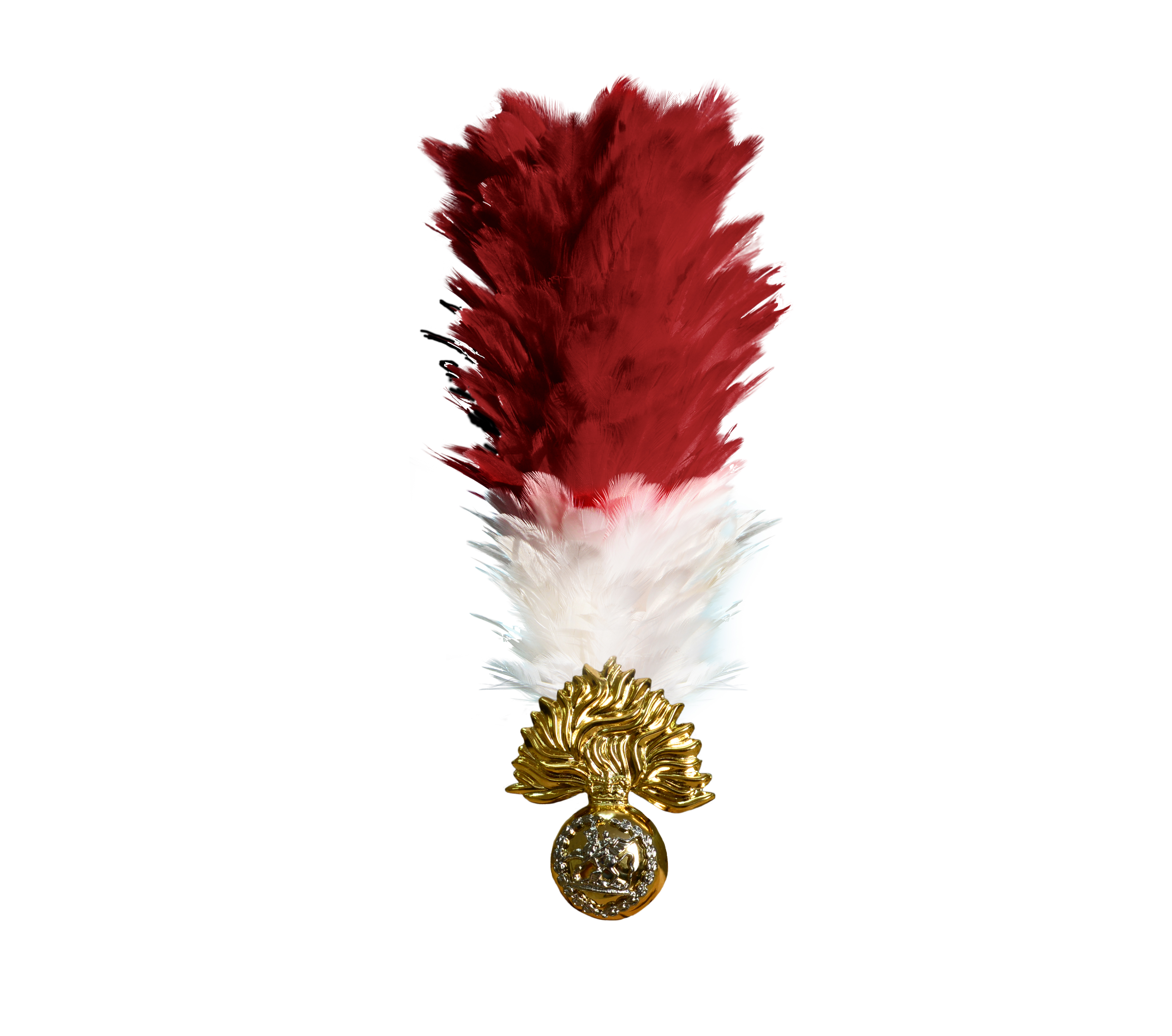 RRF official badge and hackle